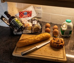 Benfield Cottage Welcome Basket